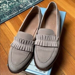 Seychelles ruffled loafer - RUNS BIG